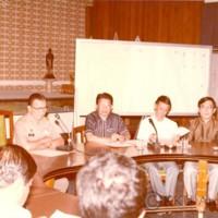 การประชุมตั้งมหาวิทยาลัยที่นครราชสีมา (มหาวิทยาลัยเทคโนโลยีสุรนารี ในปัจจุบัน)  (ภาพสี)