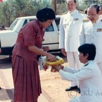 สมเด็จพระเทพรัตนราชสุดาฯ สยามบรมราชกุมารี เสด็จพระราชดำเนินประกอบพิธีเปิดอาคาร 25 ปี มหาวิทยาลัยขอนแก่น