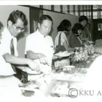 นิทรรศการประวัติความเป็นมาของมหาวิทยาลัยขอนแก่น  ณ  สำนักวิทยบริการ  กิจกรรมวันสถาปนามหาวิทยาลัยขอนแก่น ครบรอบ 20 ปี 7
