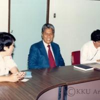 เอกอัครราชทูตอินโดนีเซียประจำประเทศไทยเข้าพบ รศ.นพ.สมพรโพธินาม  อธิการบดี