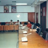 ผู้แทนทุนฟูจิโมโต้ เยือน มหาวิทยาลัยขอนแก่น โดยมี รศ.ดร.ปริญญา จินดาประเสริฐ รองอธิการบดีฝ่ายวางแผนและพัฒนา และ รศ.ดร.วินิต ชินสุวรรณ รองอธิการบดีฝ่ายวิจัย ให้การต้อนรับ