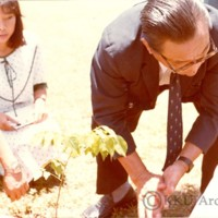ปลูกต้นไม้วันสถาปนามหาวิทยาลัยขอนแก่น ครบรอบ 20 ปี