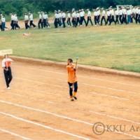 รศ.นพ.สมพร  โพธินาม เป็นประธานเปิดการแข่งขันกีฬาระหว่างคณะ มหาวิทยาลัยขอนแก่น