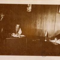 พิธีลงนามในข้อตกลงให้ความช่วยเหลือแก่โครงการจัดตั้งศูนย์แพทยศาสตร์ มหาวิทยาลัยขอนแก่น  ระหว่างนายชูชาติ  ประมูลผล  อธิการบดีกรมวิเทศสหการ  และ ฯพณฯ ริชาร์ด มีเทลเลอร์  เอกอัครราชทูตนิวซีแลนด์  โดยมี ผศ.นพ.วันชัย  วัฒนศัพท์  เป็นตัวแทนของมหาวิทยาลัยขอนแก่นร่วมเป็นสักขีพยาน ณ กรมวิเทศสหการ